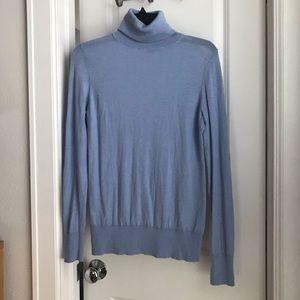 Ann Taylor light blue turtle neck sweater
